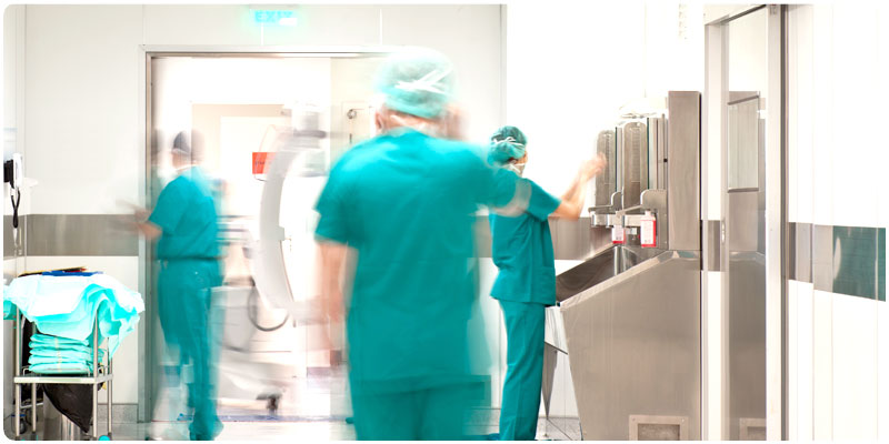 CAREL solution for Hospitals and Operating Theatres