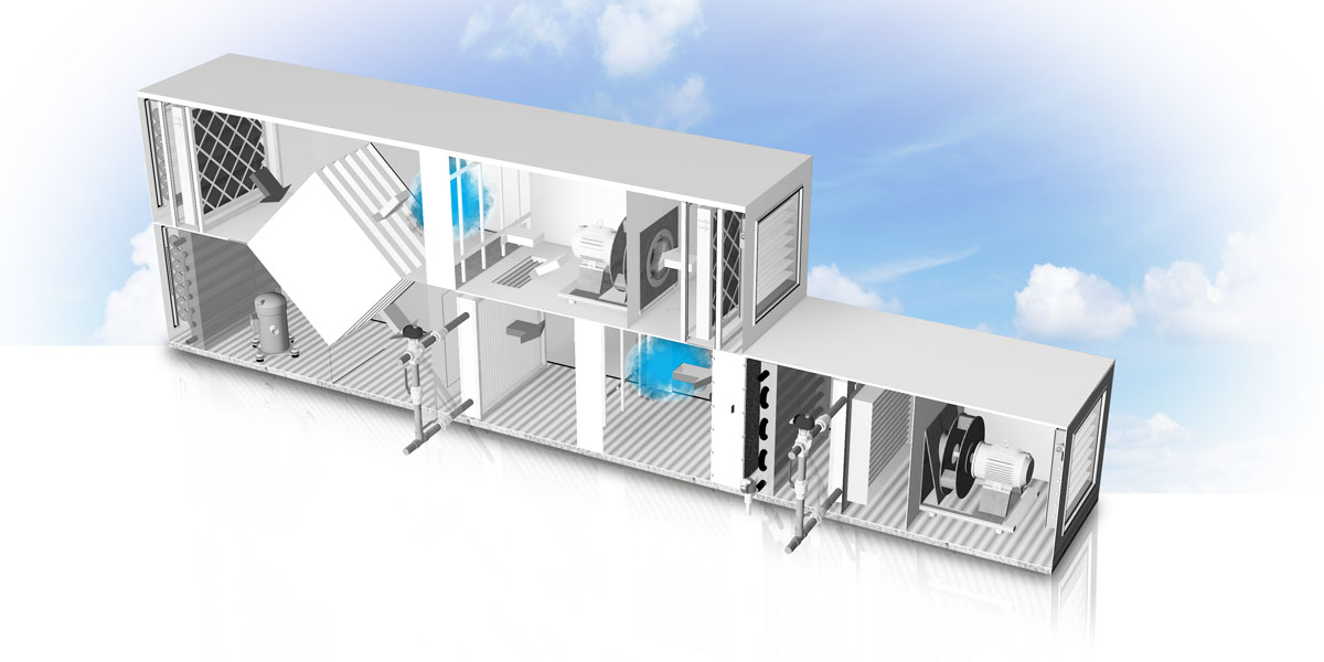 CAREL solutions for air handling units