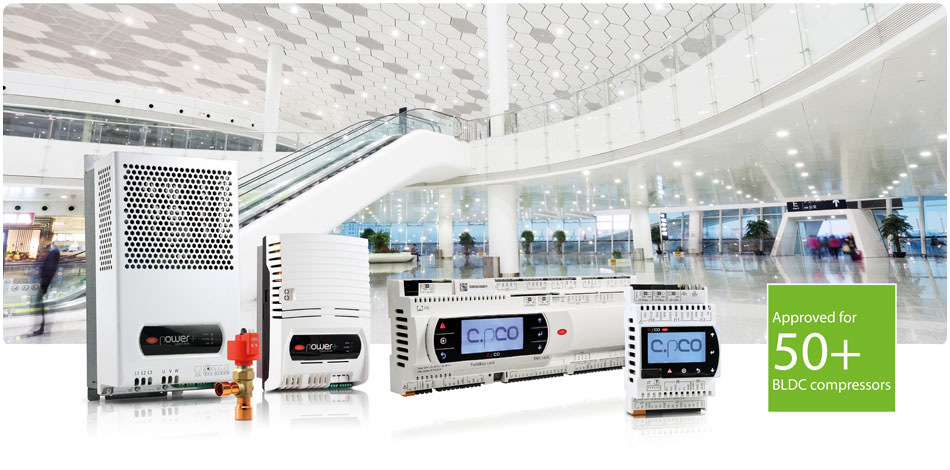 CAREL- Solution for chiller/hp units, energy efficiency and